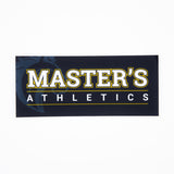 Large Master's Athletics Sticker