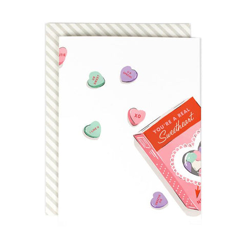 A Real Sweetheart (Greeting Card)