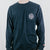 Master's Navy Pocket Long Sleeve