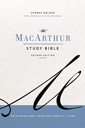 NASB, MacArthur Study Bible, 2nd Edition