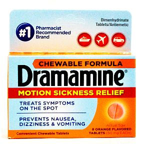 Dramamine Chewable Formula - 8 count
