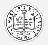 TMU Seal Sticker