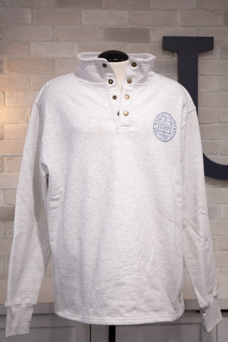 Master's Seal Snap Up Sweater