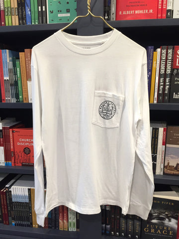 Master's White Pocket Long Sleeve