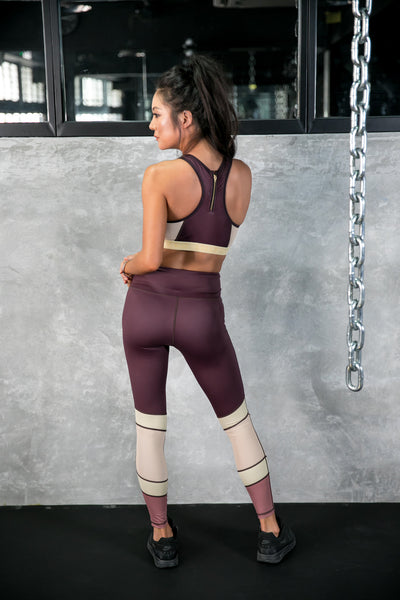 'The One' 7/8 Legging - Berry Bliss