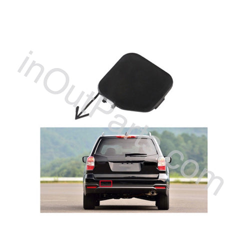 Rear Bumper Tow Hook Eye Cover Cap Lid fits SUBARU FORESTER 2008 2009 2010 2011 2012 2013