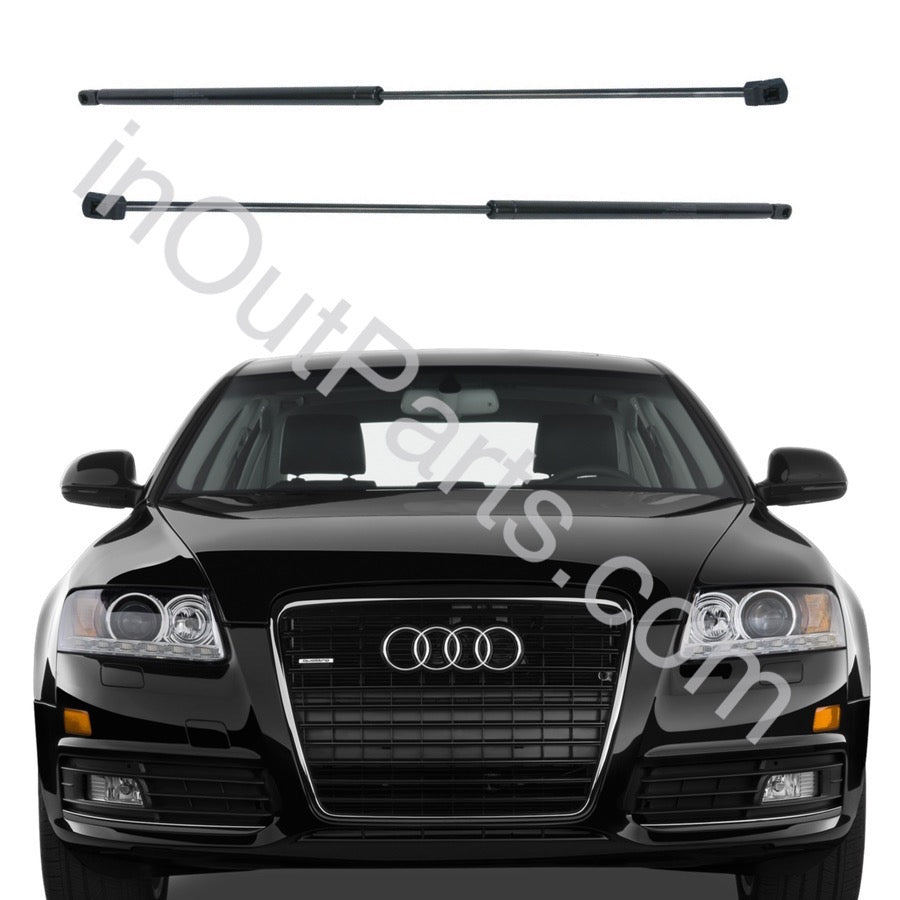 HZYCKJ 2 PCS Front Hood Lift Supports Struts Shocks Spring Dampers Compatible for Audi A6 2005-2011Audi A6 Quattro 2005-2011Audi S6 2005-2011 Hood OEM # 6569 4F0823359A SG101023