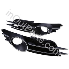 Cover Fog Lights for Audi A6 2011 2012 2013 2014 Bezel Driving Lamps Pair Quality - Inout Parts