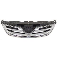 Front Radiator Grille fits TOYOTA COROLLA #ZE15# 2010 2011 2012 2013 Black with Chrome