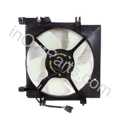 Radiator AC A/C Cooling Fan Assembly motor & shroud fits SUBARU FORESTER 2008 2009 2010 2011 2012 2013 / LEGACY / OUTBACK 2003 2004 2005 2006 2007 2008 2009 /  IMPREZA / EXIGA