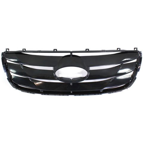 Radiator Grille for Hyundai Santa Fe 2010 2011 2012 2013 Front Primered NEW GOOD Quality
