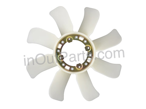 Fan Radiator Impeller fits TOYOTA LAND CRUISER 1HZ, 1HDT 1990 1991 1992 1993 1994 1995 1996 1997 1998