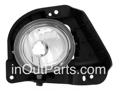 Fog Lights fits Mazda 2 2007 2008 2009 - Clear Driving Lamps Pair
