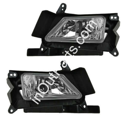 Fog Lights fits Mazda 3 2008 2009 2010 2011 Clear Driving Lamps Pair
