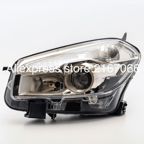 Headlight Left HID Accessories for Nissan QASHQAI, DUALIS 2010 2011 2012 2013 2014 Driver Side - Headlamp for Xenon