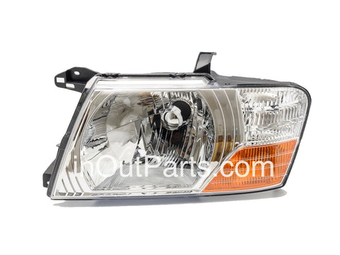 Headlights for MITSUBISHI PAJERO / MONTERO 2003 2004 2005 2006 Left Driver Side
