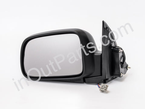 Mirror Left fits HONDA CR-V 2001 2002 2003 2004 2005 2006 Driver Side for RHD - leveling, folding, heat, 7 contacts