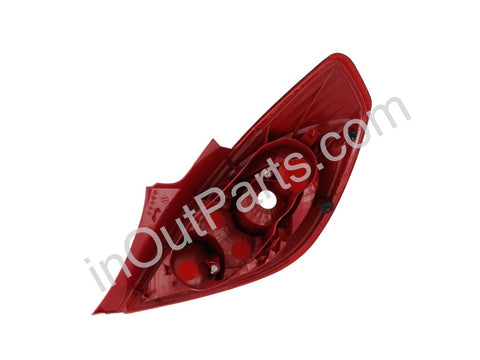 Tail Light Left for Opel Corsa 4 Doors - 2007 2008 2009 2010 2011 2012 2013 Rear Lamp Hatchback
