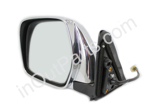 Mirror Left for TOYOTA LAND CRUISER PRADO 1996 1997 1998 1999 2000 2001 2002 Adjustment, Heat, 5 Contacts - Chrome