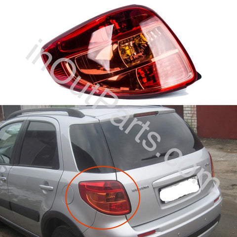 Tail Light Left SUZUKI SX-4 5D 2006 2007 2008 2009 2010 2011 2012 Rear Lamp Left Side