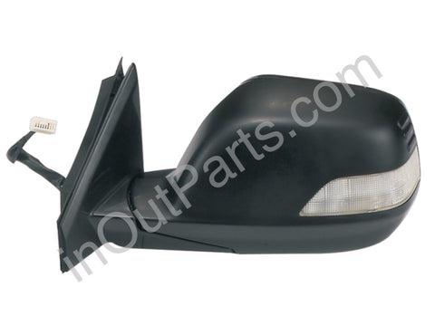 Mirror Left fits HONDA CR-V 2007 2008 2009 2010 2011 2012 Driver Side - folding, turn, heat, 9 contacts