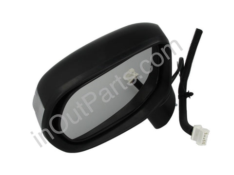 Mirror Left fits HONDA CIVIC 2005 2006 2007 2008 2009 2010 2011 Driver Side - folding, heat, turn, 9 contacts