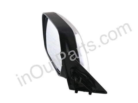Mirror Left Toyota Land Cruiser 80 1990 1991 1992 1993 1994 1995 1996 1997 1998 manual level, chrome for LHD