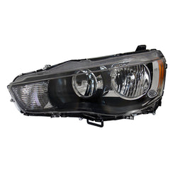 Headlight Left fits  MITSUBISHI OUTLANDER XL 2010 2011 2012 2013 Halogen Headlamp Driver Side
