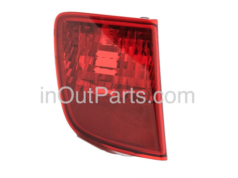 Rear Lights for Toyota Land Cruiser 200 2007 2008 2009 2010 2011 Tail Lamps Reflector Light Pair in rear bumper