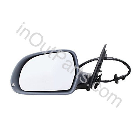 Mirror Left for Audi A4 2008 2009 2010 2011 Driver Side 8 contacts