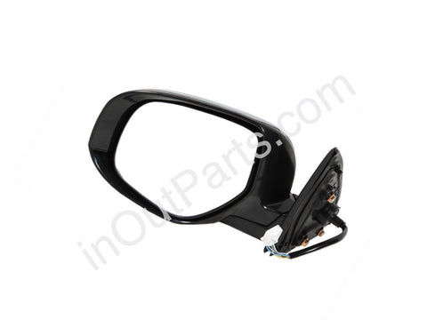 Mirror Left for MITSUBISHI OUTLANDER XL 2013 2014 2015 2016 Stock, Heat, Fold, 9 Contacts