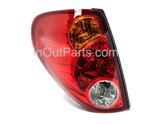fits Mitsubishi L200 2005 - 2014 Rear Lamps Tail Lights LEFT, Side Driver - Inout Parts