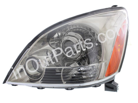 Headlight Left fits LEXUS GX470 J12 2003 2004 2005 2006 2007 2008 2009 Headlamp Driver Side