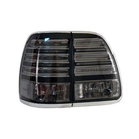 Tail Lights LED fits LEXUS LX470 2002 2003 2004 2005 2006 2007 Rear Lamps SET LEFT + RIGHT PAIR Outer - Smoke, Tuning SET