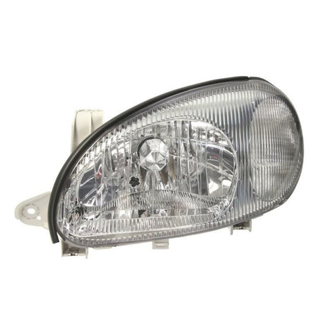 Headlight Left fits DAEWOO / CHEVROLET LANOS 1997 1998 1999 2000 2001 2002 2003 2004 2005 2006 2007 2008 Headlamp LEFT
