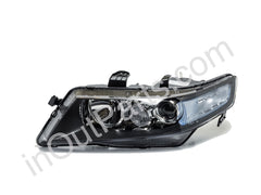 Headlight Left for HONDA ACCORD 2005 2006 2007 2008 Headlamp Driver Side - for electric leveling, Halogen