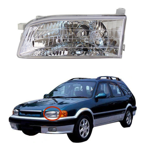Headlight LEFT fits TOYOTA CARIB 1997 1998 1999 2000 2001 2002 Headlamp Left Side