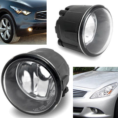 Fog Light for Nissan Versa Driver and Passenger Sides Driving Lamp PAIR - Inout Parts