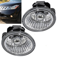 Fog Lights fits Nissan Murano Altima 2003 2004; fits Infiniti FX35, fits FX45 2002 2003 2004 Driver Passenger Sides Lamps pair - Inout Parts