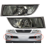 Fog Lights for Lexus GX470 2002 - 2009 Clear Driving Lamps left+Right sides = Pair