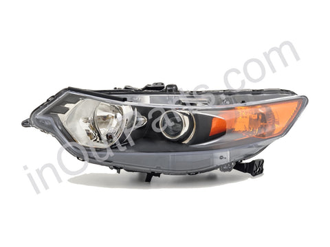 Headlights for HONDA ACCORD 2008 2009 2010 Left Driver Side - dark, electric corrector included
