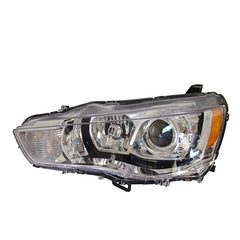 Headlight Left fits  MITSUBISHI OUTLANDER XL 2010 2011 2012 2013 Headlamp Driver Side for XENON