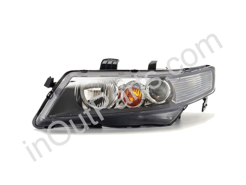 Headlights for HONDA ACCORD 2002 2003 2004 2005 Left Driver Side - for electric leveling Halogen