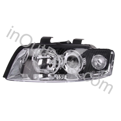 Headlight Left for Audi A4 2001 2002 2003 2004 2005 Driver Side