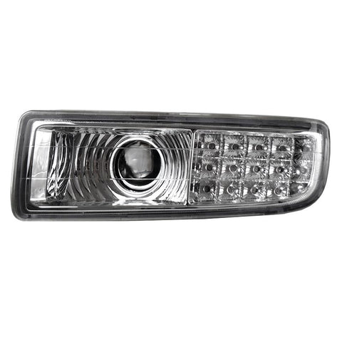 Fog Lights for Lexus LX470 1998 1999 2000 2001 2002 2003 2004 2005 2006 2007 LED Turn Clear Driving Lamps left + Right sides