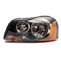 Headlight Left for VOLVO XC90 2002 2003 2004 2005 2006 Driver Side - BLACK