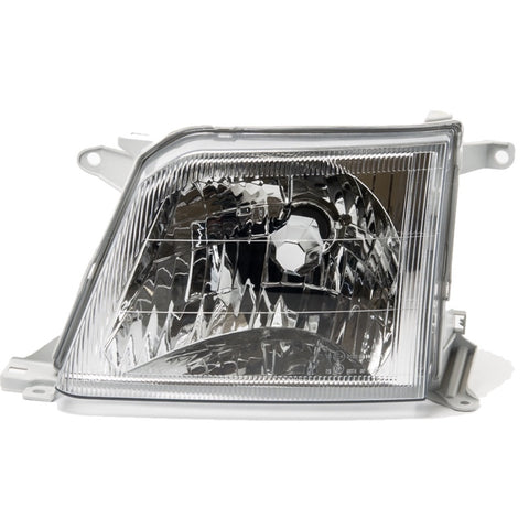 Headlight Left for TOYOTA Land Cruiser PRADO 90 2000 2001 2002 Headlamp Driver Side - CLEAR