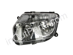 Headlight Left for RENAULT DUSTER 2010 2011 2012 2013 2014 2015 2016 Driver Side - CHROME