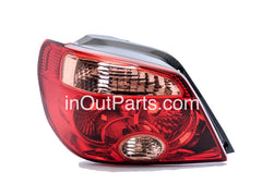 fits MITSUBISHI OUTLANDER / AIRTREK 2005 2006 Rear LEFT Tail Lights - RED - Inout Parts