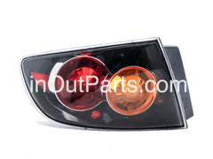 fits MAZDA 3 / AXELA 2003 2004 2005 2006 4D Rear Lamps Tail Lights Left Side Sedan Only - Inout Parts